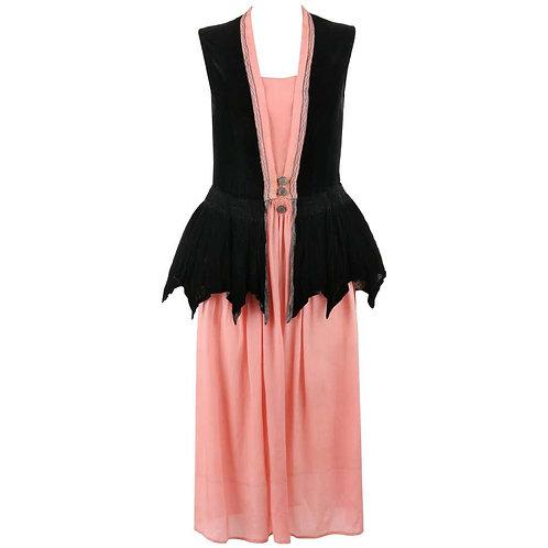 Barnett c.1910's Evening Dress