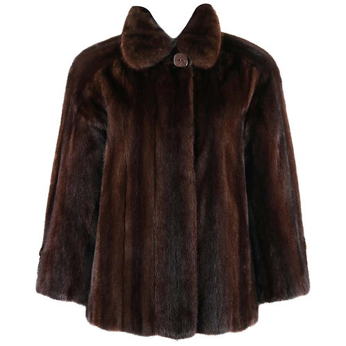 Geoffrey Beene Mink Fur Coat