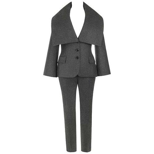 Alexander McQueen Wool & Cashmere Pant Suit