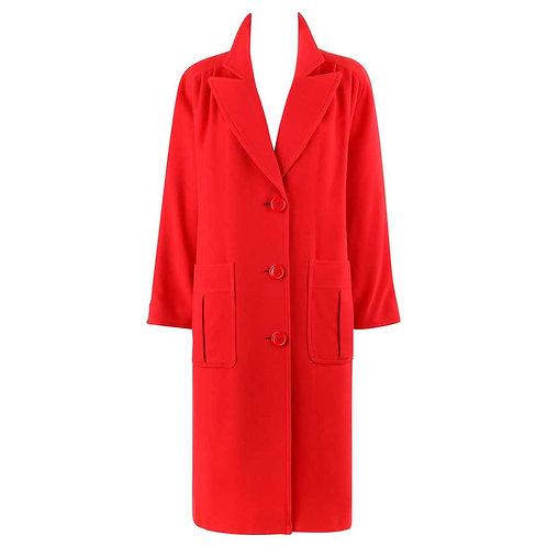 Valentino Miss V Cocoon Coat