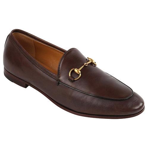 """Gucci """"Jordaan"""" Horsebit Loafers"""