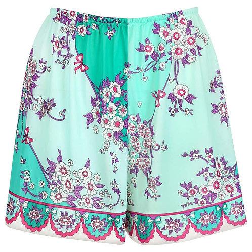 Emilio Pucci Floral Print Shorts