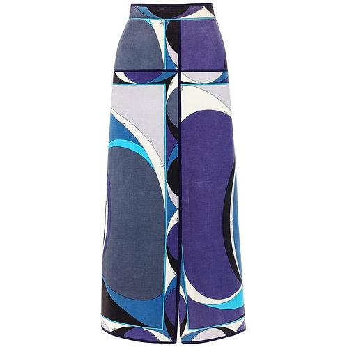 Emilio Pucci Velvet Maxi Skirt