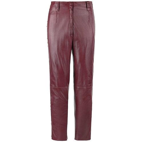 Roberto Cavalli Leather Studded Pants