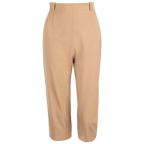 Hermes Wool Capri Pants