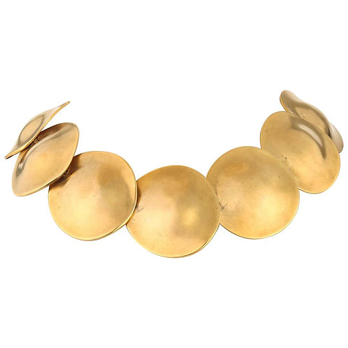 Robert Lee Morris 24K Gold Plated Necklace