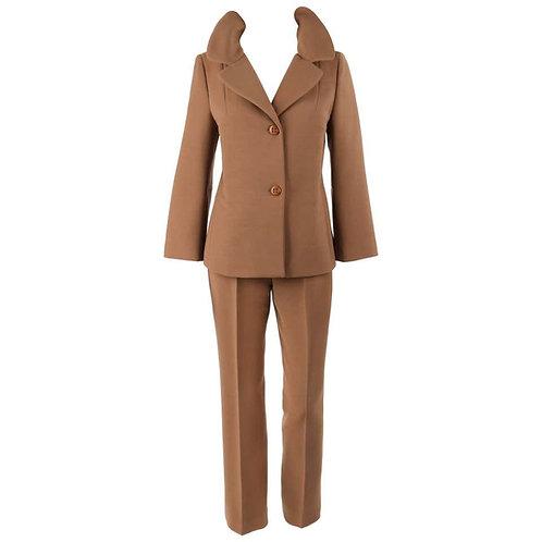 Dolce & Gabbana Wool Jacket Pant Suit