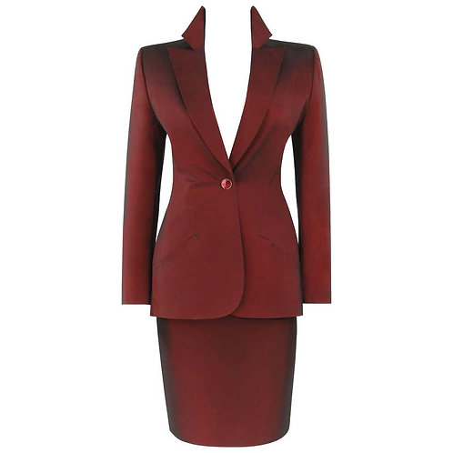 Givenchy Couture Alexander McQueen 3pc Suit