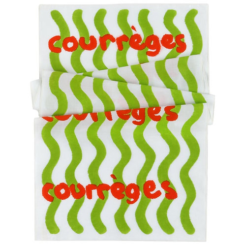Courrèges Abstract Wrap Scarf