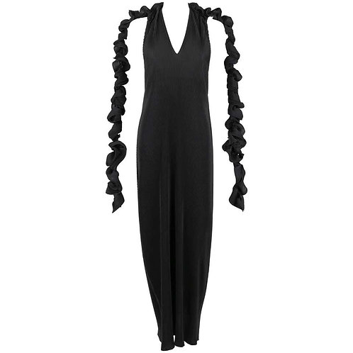 Issey Miyake Pleated Evening Gown