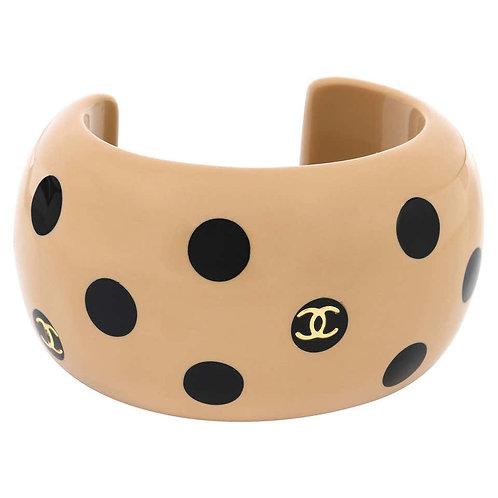 Chanel CC Emblem Cuff Bracelet