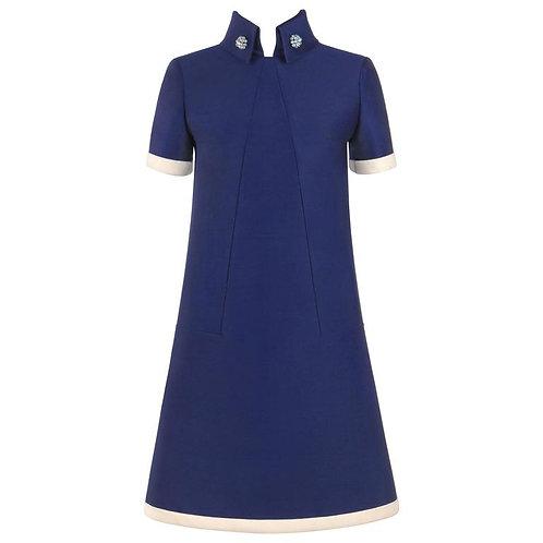 Jean Patou c.1960's A-line Dress