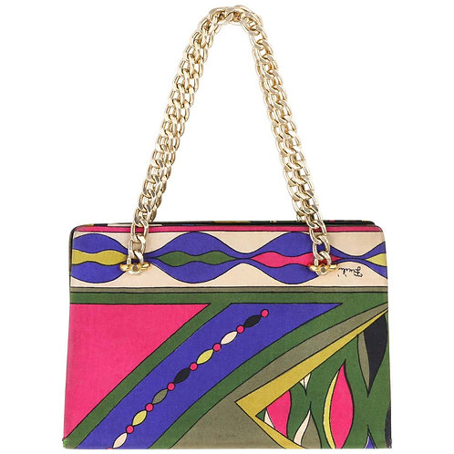 Emilio Pucci Abstract Print Purse