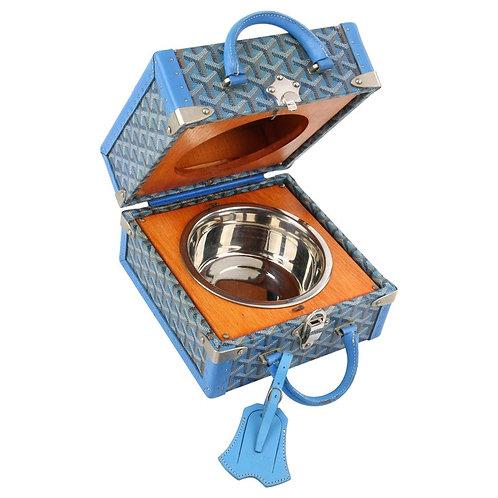 Goyard Pet Bowl Carrier Limited Edition No. 17