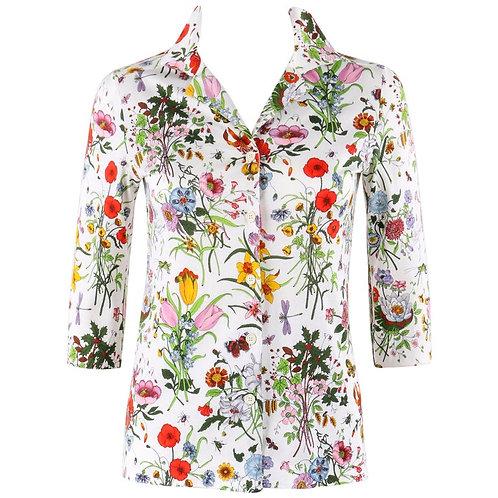 "Gucci ""Flora"" Print Shirt"