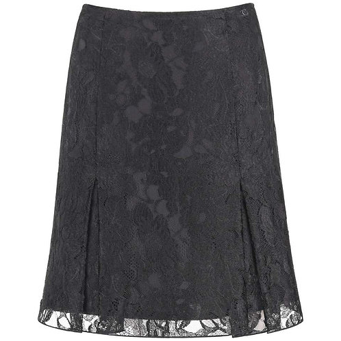 Chanel Floral Lace Skirt