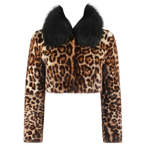 Dolce & Gabbana Marmot & Fox Fur Jacket