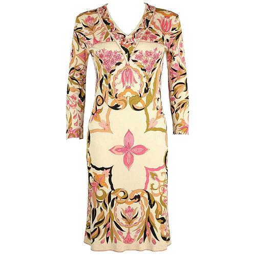 Emilio Pucci Kaleidoscope Floral Dress