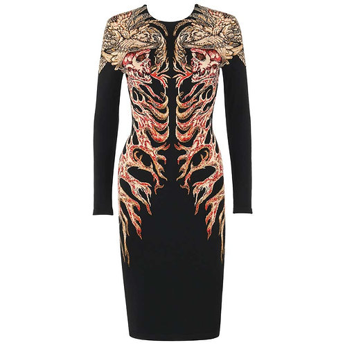 "Alexander McQueen ""Hells Angels"" Dress"