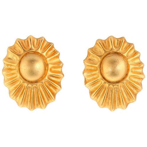 Hermes Paris Sun Ray Earrings