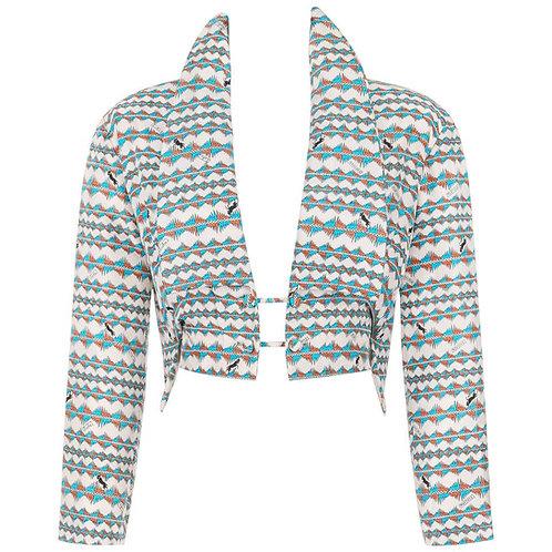 "Emilio Pucci S/S 1957 ""Palio"" Silk Jacket"