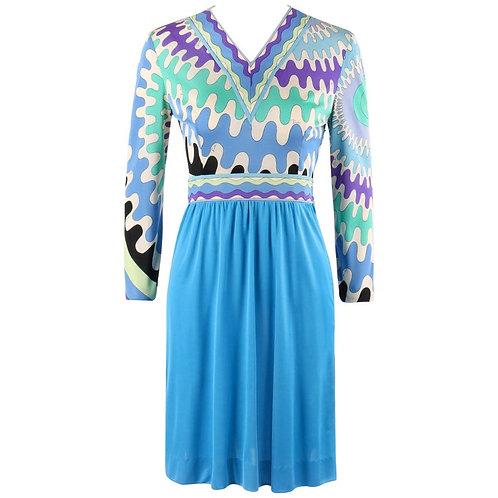 Emilio Pucci Op Art Shift Dress