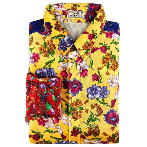 Gianni Versace Velvet Shirt