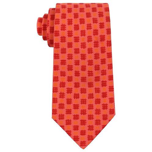 Hermes Check Print Necktie
