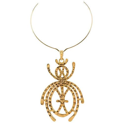 Kenneth Jay Lane Scarab Necklace