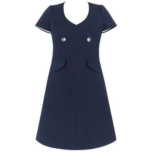 Courreges Wool A-Line Dress