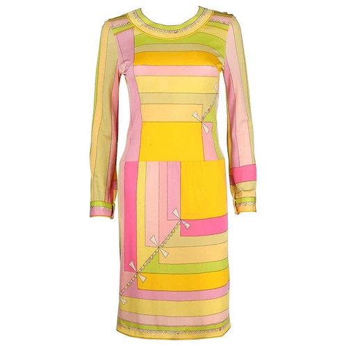 "Emilio Pucci ""Colleti"" Jersey Dress"