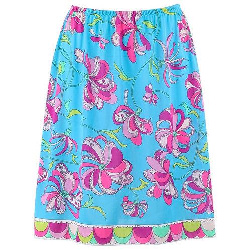 Emilio Pucci Formfit Floral Skirt