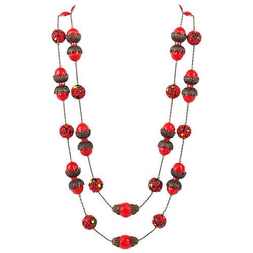 Alice Caviness Confetti Bead Necklace