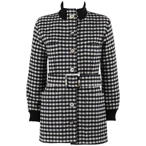 Yves Saint Laurent Wool Belted Coat