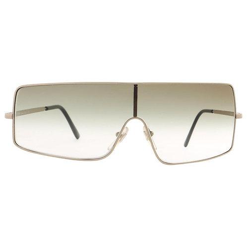 Chloe Asymmetrical Shield Sunglasses