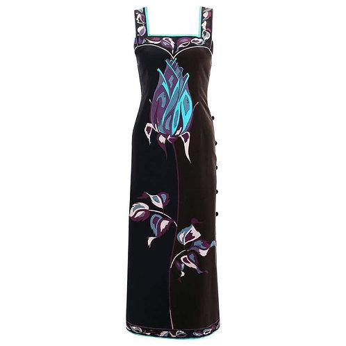 Emilio Pucci Velvet Maxi Dress