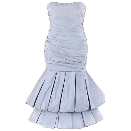 Alexander McQueen Iridescent Silk Dress
