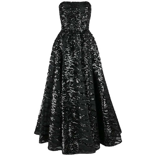 Haute Couture Sequin Ball Gown
