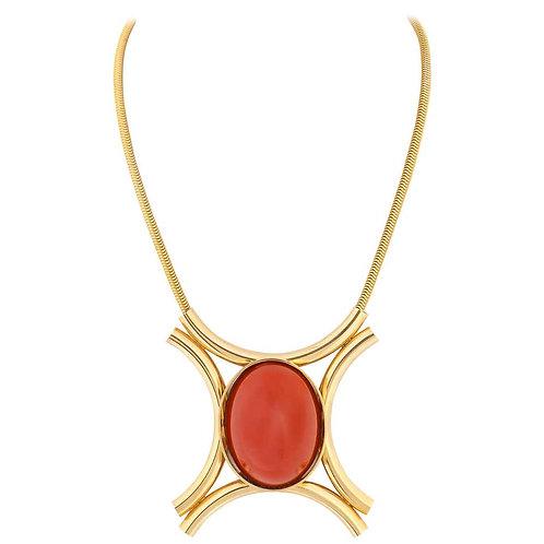Juliana D&E Modernist Pendant Necklace