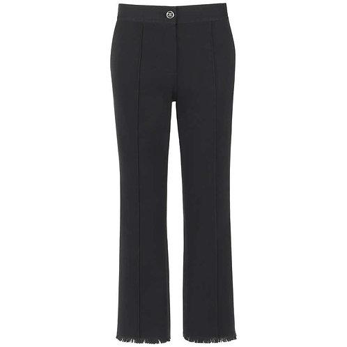 Chanel Stretch Cotton Capri Ankle Pants