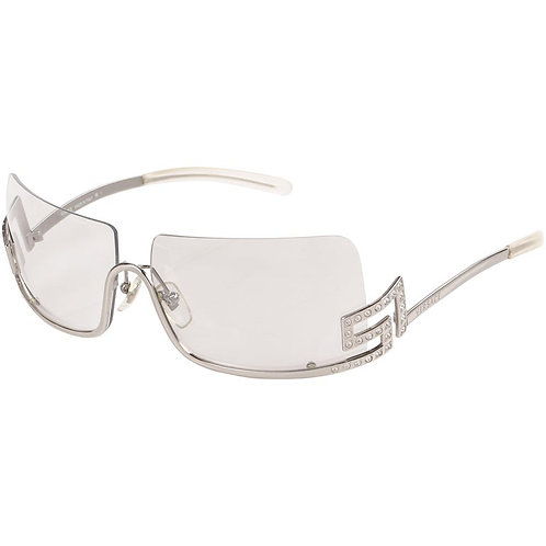 Versace Rhinestone Greek Key Sunglasses