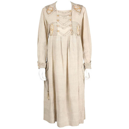 Couture Edwardian Smock Frock Dress