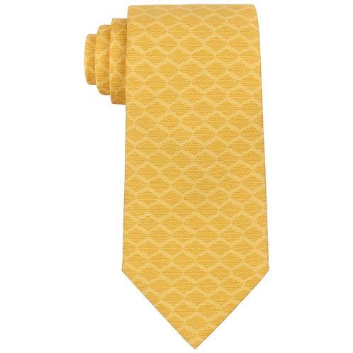 Hermes Lattice Print Necktie