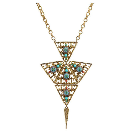 Juliana D&E Moroccan Pendant Necklace