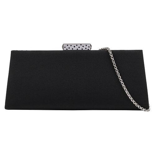 Cartier Black Structured Evening Bag
