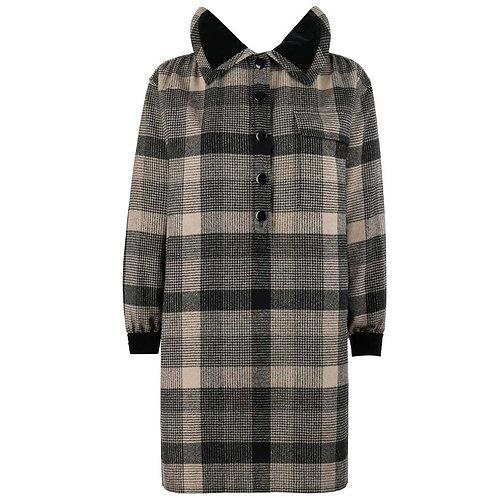 Yves Saint Laurent Wool Shirt Dress