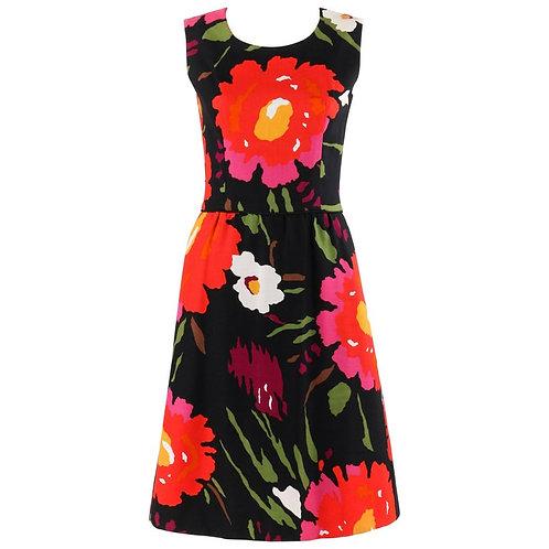 Robes H.B.Z. Floral Shift Dress