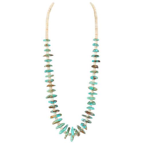 c.1970's Navajo Stone Beaded Necklace
