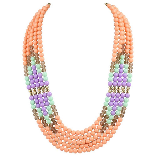 Emilio Pucci Multi Strand Necklace