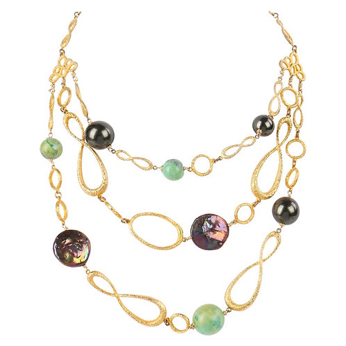Alexis Bittar Multi Strand Necklace